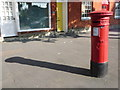 SY4692 : Bridport: postbox № DT6 21, South Street by Chris Downer