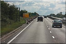 TL4662 : Road Works on A14 by John Salmon