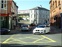 J4844 : Irish Street at the corner of Market Street, Downpatrick by Dean Molyneaux