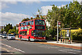 TQ1289 : 183 Bus on Pinner Road by Martin Addison