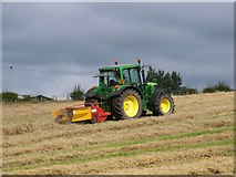 NS9740 : Swath Conditioning Near Covington by James T M Towill