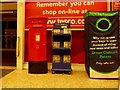 SZ0093 : Fleetsbridge: postbox № BH17 98, Tesco, Waterloo Road by Chris Downer