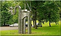 J3371 : Sculpture, Stranmillis, Belfast (1) by Albert Bridge