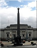 SJ3384 : The Leverhulme Memorial at Port Sunlight by Gerald Massey