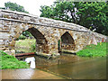 TL2247 : Sutton Ford and Packhorse Bridge, Bedfordshire by Christine Matthews