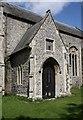 TL9991 : All Saints, Snetterton, Norfolk - Porch by John Salmon