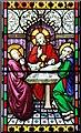 TL9991 : All Saints, Snetterton, Norfolk - Window by John Salmon