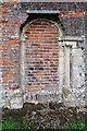 TM3898 : St Gregory's Church, Heckingham, Norfolk - Blocked doorway by John Salmon