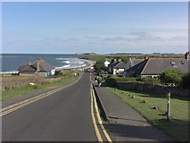 NU2424 : Low Newton-by-the-Sea by Anthony Foster
