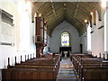 TG3500 : St Michael's church - view west by Evelyn Simak