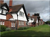 SJ3384 : Houses at Port Sunlight (Church Drive) by Gerald Massey