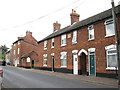 TM3699 : Terraced cottages in Langley Road by Evelyn Simak