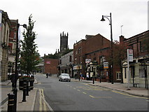 SD9205 : Oldham - Yorkshire Street by Peter Whatley