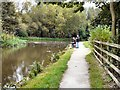 SJ9396 : Canal Fishing by Gerald England