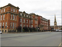 SJ8298 : Former Salford Royal Hospital by Peter Whatley