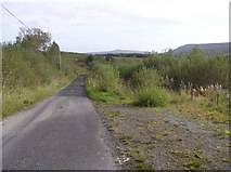 G8934 : Road at Meenymore by Kenneth  Allen