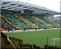 TG2407 : South Stand (Jarrold Stand), Carrow Road, Norwich City Football Club by Martin Thirkettle