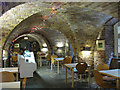 TQ3278 : St Peter's Walworth: crypt cafe by Stephen Craven