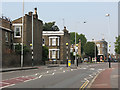 TQ3776 : Zebra crossing on Brookmill Road by Stephen Craven