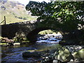 NY1606 : Netherbeck Bridge, Wast Water by John Lord