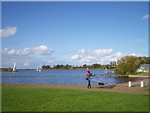 J0561 : Yachts returning to moorings after sailing in Lough Neagh, 2. by P Flannagan