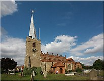 TL7204 : St Mary the Virgin, Great Baddow, Essex by John Salmon
