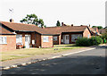TG3608 : Bungalows in Norwich Road by Evelyn Simak