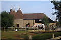 TQ7458 : Oast House at The Museum of Kent Life, Cobtree, Lock Lane, Sandling, Kent by Oast House Archive