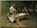 TQ7458 : Hop Picking at The Museum of Kent Life by Oast House Archive