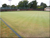 TL7205 : Great Baddow Bowling Green by Adrian Cable
