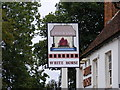 TL7204 : White Horse Public House Sign, Great Baddow by Adrian Cable