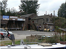 SJ9377 : Sawmill at Bollington by Alan Murray-Rust