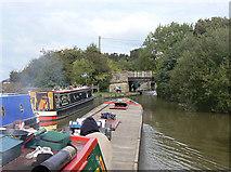 SJ9483 : Approaching Lyme Road Bridge by Alan Murray-Rust