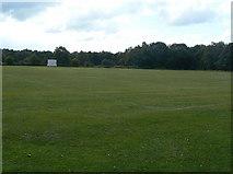 SJ9485 : High Lane Cricket Club by Alan Murray-Rust