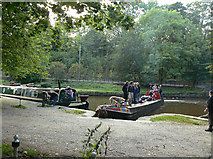 SK0181 : Winding at Whaley Bridge by Alan Murray-Rust