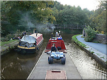 SK0182 : Bugsworth Branch junction by Alan Murray-Rust