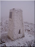 SO2718 : The Trig Point, The Sugar Loaf, 1st January, 2009. by Frank Cook