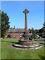 SJ2285 : Memorial Cross at Caldy by Eirian Evans