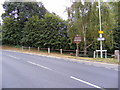 TL7204 : Church Street, Great Baddow & Great Baddow Village Sign by Adrian Cable