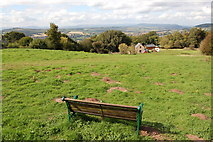 SO5212 : Viewpoint below the Kymin by Roger Davies