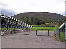 NO1491 : The Princess Royal  and Duke of Fife Memorial Park, Braemar by Richard Dorrell