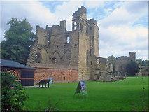 SK3616 : Ashby Castle by Trevor Rickard