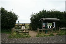 TQ1450 : Entrance to Steers Field by Hugh Craddock