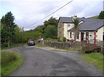 G9738 : Road at Barra East by Kenneth  Allen