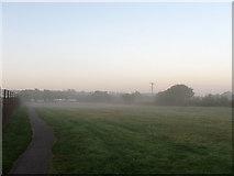 TQ3616 : Overspill Car Park, Plumpton Racecourse by Simon Carey