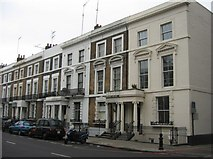 TQ2479 : Town houses - Holland Road by Sandy B