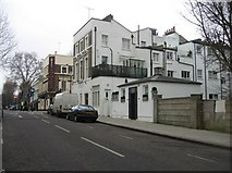 TQ2479 : Rear view of houses in Holland Road by Sandy B
