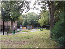 TQ3479 : Site of Christ Church, Jamaica Road, Rotherhithe, London, SE16 by Chris Lordan