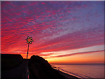 TG2142 : Cromer Sunset by Christine Matthews