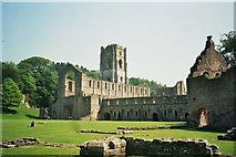 SE2768 : Fountains Abbey by Astrid H